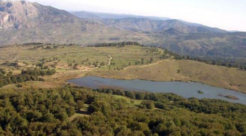 Il Lago Biviere, nel Parco dei Nebrodi