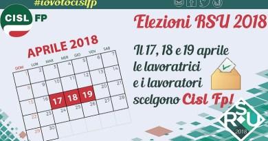 La Cisl Fp Palermo Trapani si conferma il sindacato piùvotato alle elezioni delle Rsu riscuotendo ampi e rilevanti consensi da parte dei lavoratori