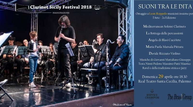 Clarinet Sicily Festival, al via la seconda edizione. Il 29 aprile l'inaugurazione