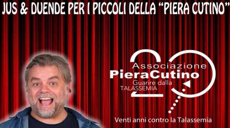 Talassemia, a Palermo spettacolo di beneficenza con Ernesto Maria Ponte