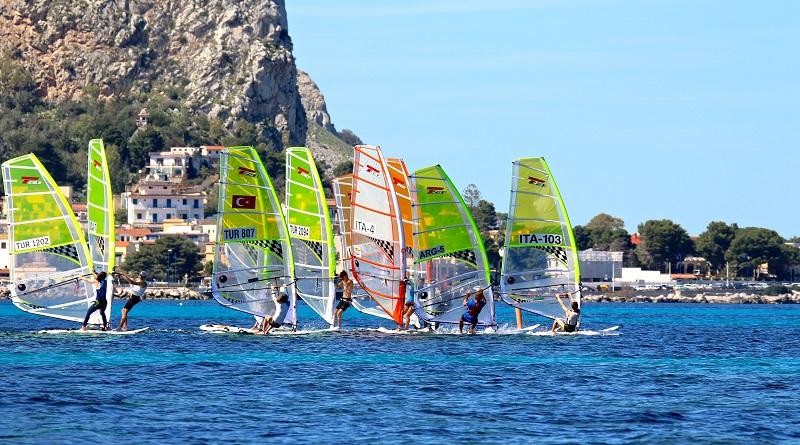 Campionato europeo tavole a vela Techno 293 Plu