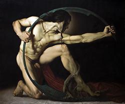Achille di Roberto Ferri, in mostra allo Steri