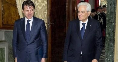 Giuseppe Costa e Sergio Mattarella