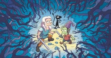 """Le prime immagini di """"Disincanto"""", il nuovo cartone animato del creatore dei Simpson"""