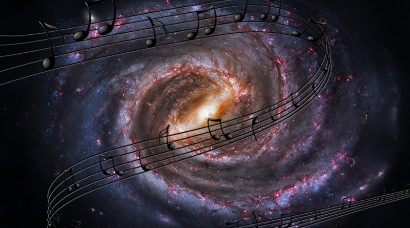 Milky Way Blues Un astronomo americano ha trasformato oltre 20 anni di segnali radio provenienti dalla Via Lattea in note di pianoforte, basso e sassofono intitolando l'opera Milky Way Blues