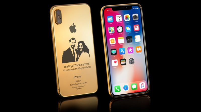 Royal wedding, in arrivo iPhone X in oro dedicato ad Harry e Meghan