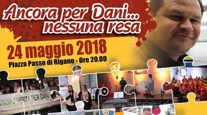 Palermo, a Passo di Rigano fiaccolata in ricordo di Daniele Discrede