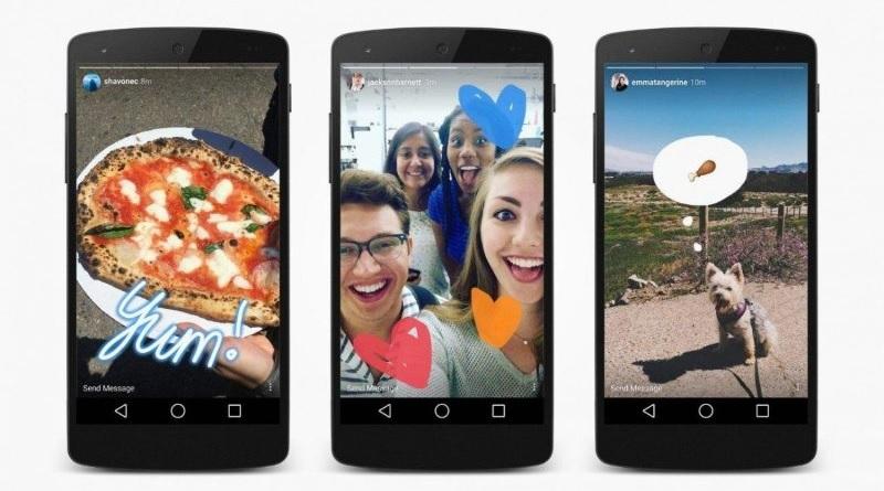 Instagram, adesso si potranno mettere le Storie nelle Storie