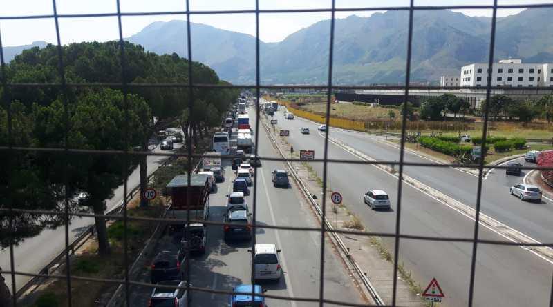 Arcuri ponte Corleone lavori traffico Gelarda Chinnici