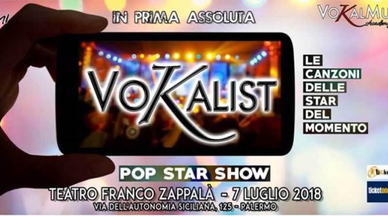 Palermo, al Teatro Zappalà la prima edizione di Vokalist. Da un'idea di due concorrenti di X Factor