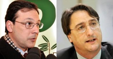 Giuseppe Lupo e Claudio Fava