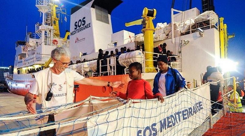 Sos Mediterranee, i migranti e il silenzio del presidente Calandra