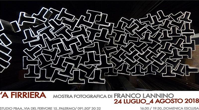 Franco Lannino mostra 'A Firriera