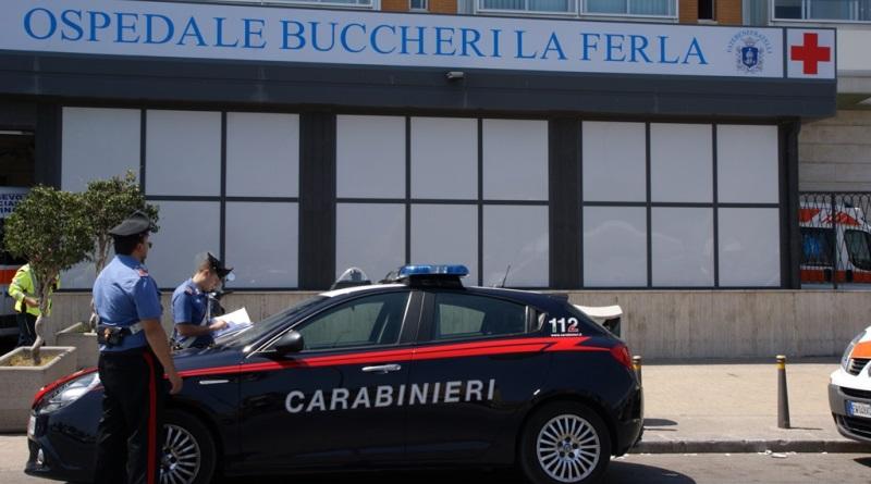 Palermo, giovane giunto al Buccheri con ferita da taglio sospetta: fermate due persone