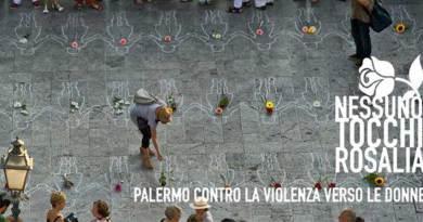 """""""Nessuno tocchi Rosalia"""", il 13 luglio in piazza a Palermo contro la violenza sulle donne"""