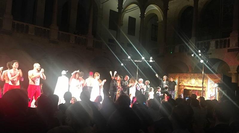 R Patrona Trionfo spettacolo Palazzo Reale