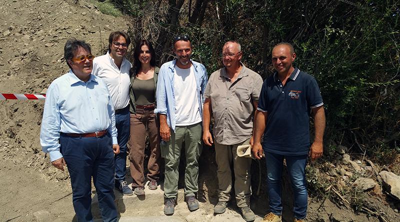 Sebastiano Tusa agli scavi di Halaesa - 2018