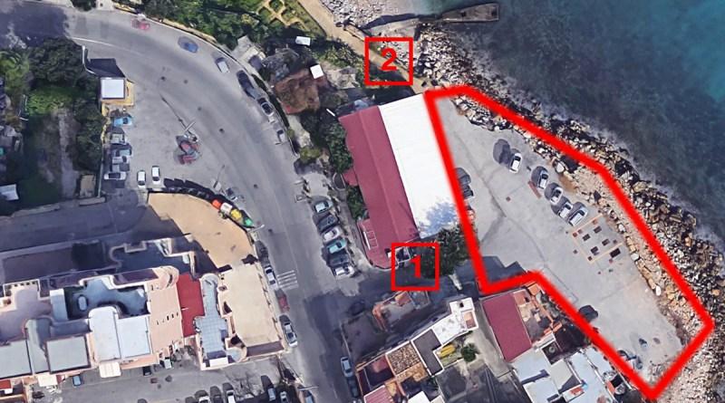 Vicenda parcheggio area demaniale zona piazza Bordonaro