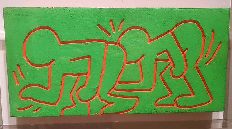 Keith Haring a Villa Zito a Palermo