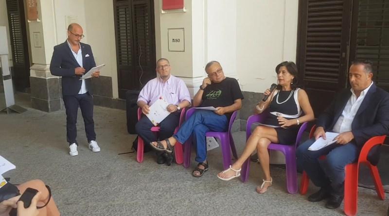 Presentazione Scruscio a Palazzo Riso