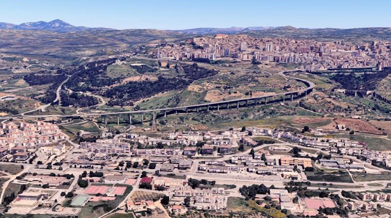 Viadotto Morandi Akragas ad Agrigento