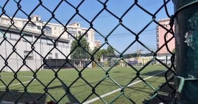 campo di calcio via De Saliba, Palermo