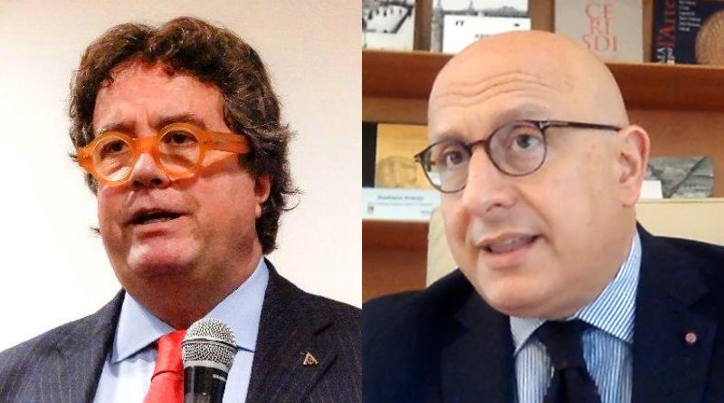 Sebastiano Tusa e Gaetano Armao