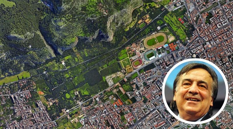 Leoluca Orlando e il Parco della Favorita, a Palermo