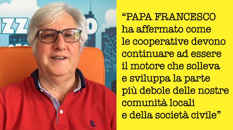 Michele Cappadona cita Papa Francesco