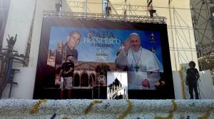 Papa Francesco a Palermo