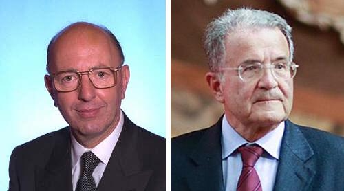 Silvio Liotta e Romano Prodi