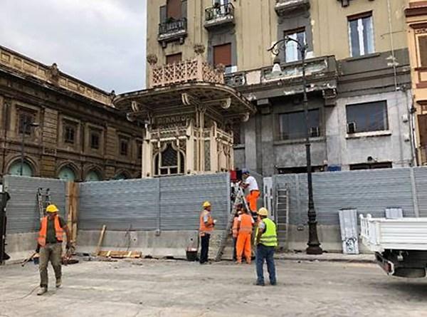 Chiosco Ribaudo Piazza Castelnuovo