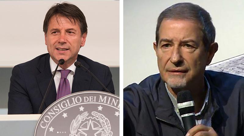 Giuseppe Conte e Nello Musumeci