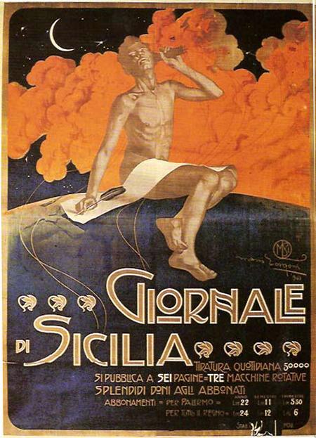 Poster Giornale di Sicilia
