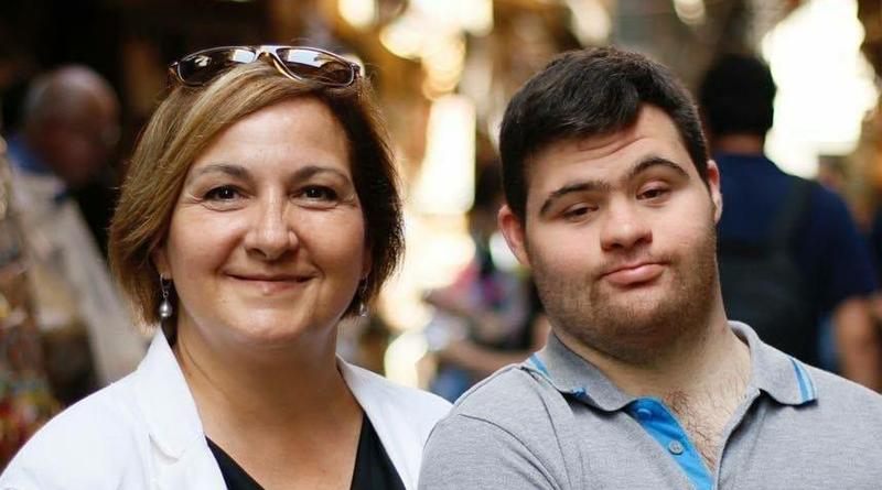 Rosi e Riccardo, manifestano inseme ad Anffas per il riconoscimento dei diritti dei disabili