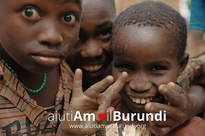 Aiutiamo il Burundi