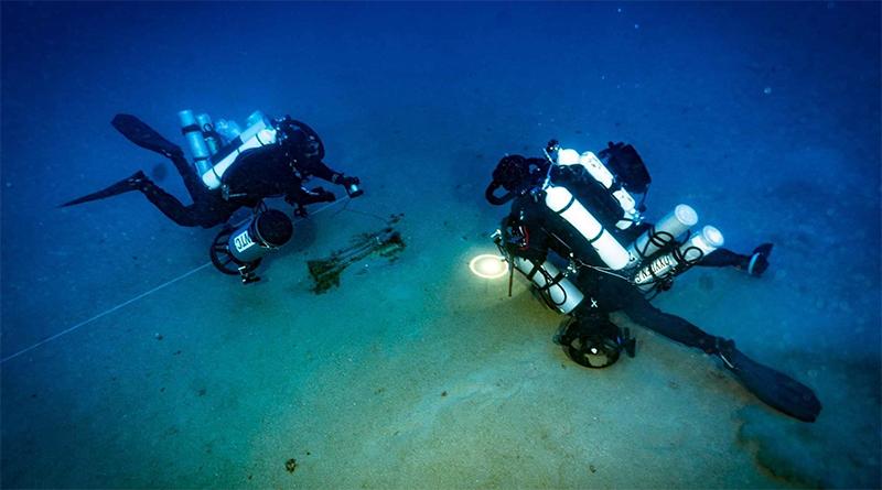 Subacquei recuperano rostro nave romana Battaglia delle Egadi