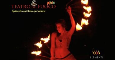 Teatro del Fuoco Kids, lo spettacolo con il fuoco dedicato ai bambini, a Palermo sabato 16 febbraio 2019