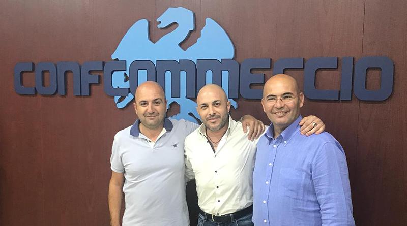 Da sinistra: Giovanni Costantino, il presidente Daniele Ruisi e Girolamo Romano.