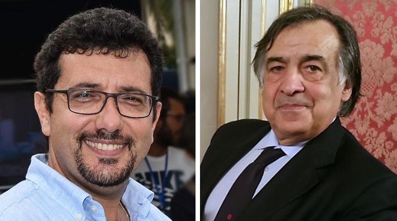 Igor Gelarda e Leoluca Orlando