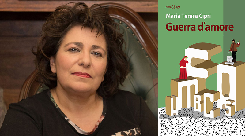 """Maria Teresa Cipri, autrice di """"Guerra d'amore"""""""