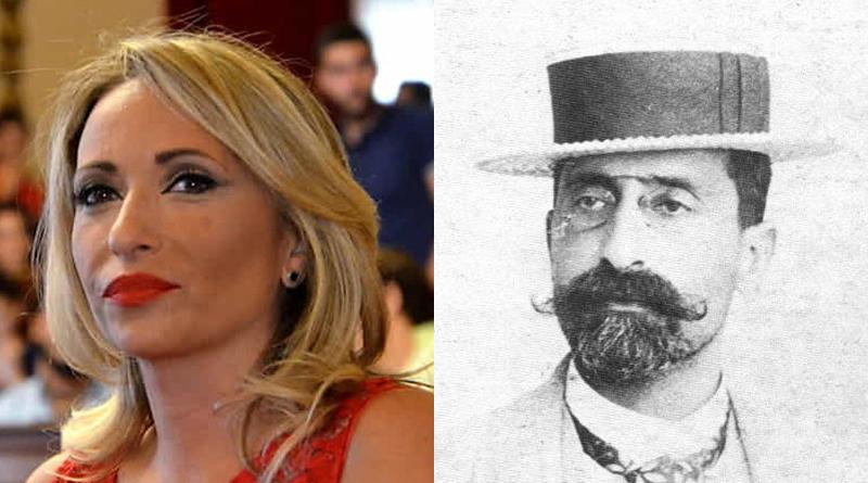 Marianna Caronia ed Ernesto Basile