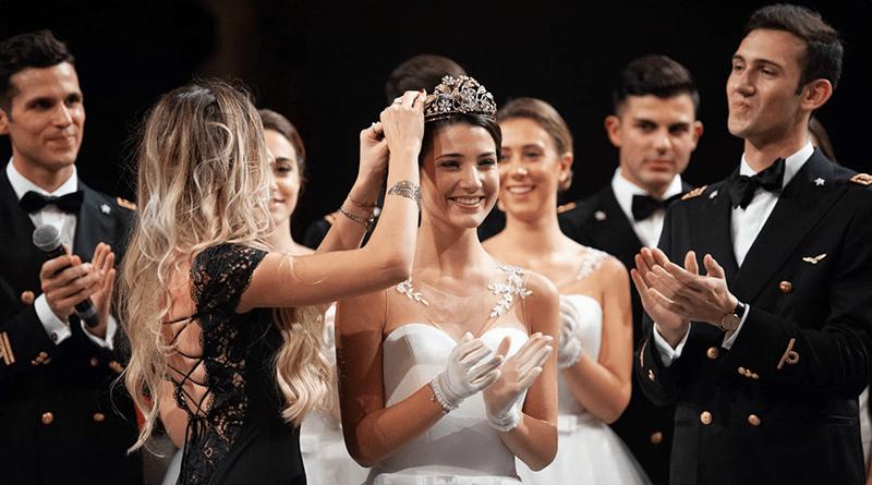 Marianna Taormina al Gran Ballo Viennese a Roma