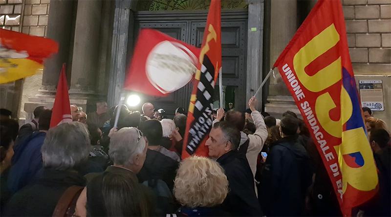 Manifestazione a Catania