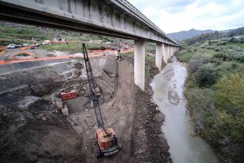 infrastrutture cantieri strade sicilia