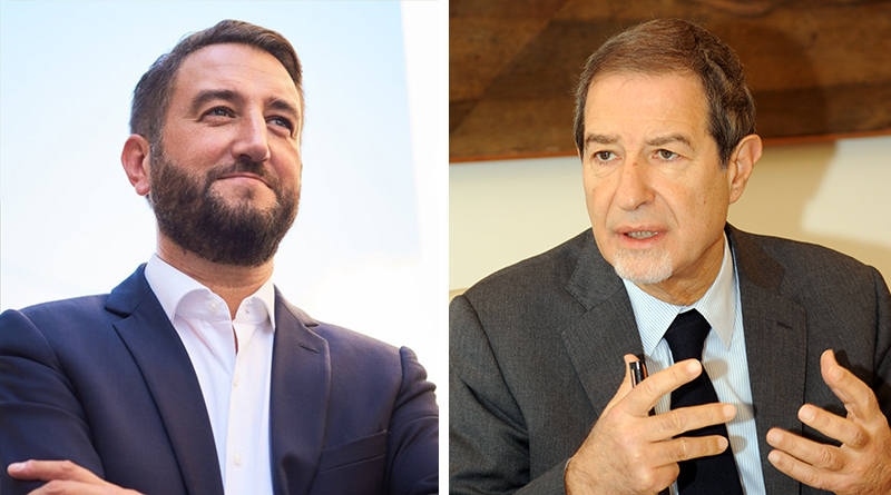 Gianfranco Cancelleri e Nello Musumeci
