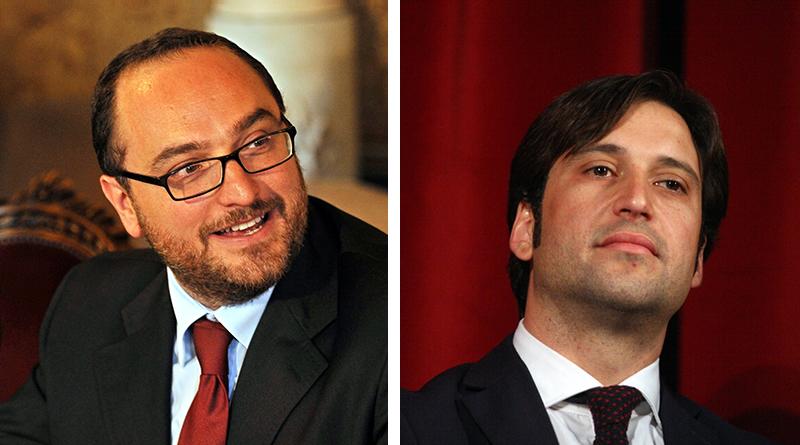 Giusto Catania e Fabrizio Ferrandelli