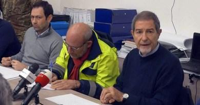 Nello Musumeci e Ruggero Razza, terremoto Natale 2018