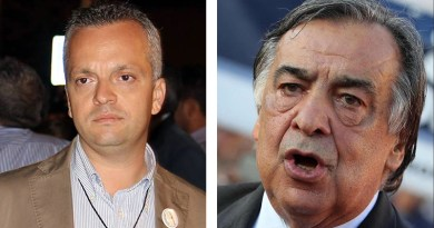 Giovanni Pisciotta e Leoluca Orlando