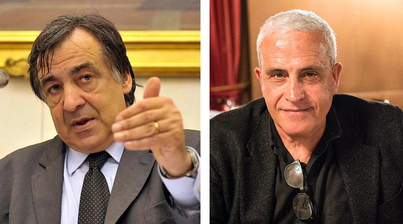Leoluca Orlando e Roberto Alajmo